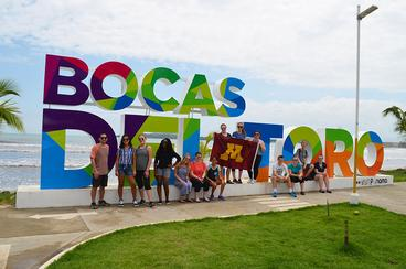 UMN students in Panama